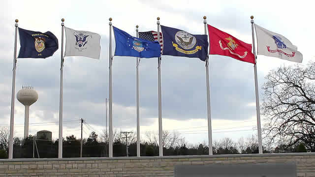 all branches us military flags footage 022519334 prevstill